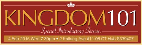 KINGDOM101 Intro Banner