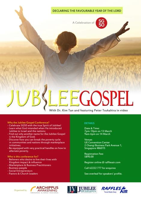 Jubilee Gospel Brochure